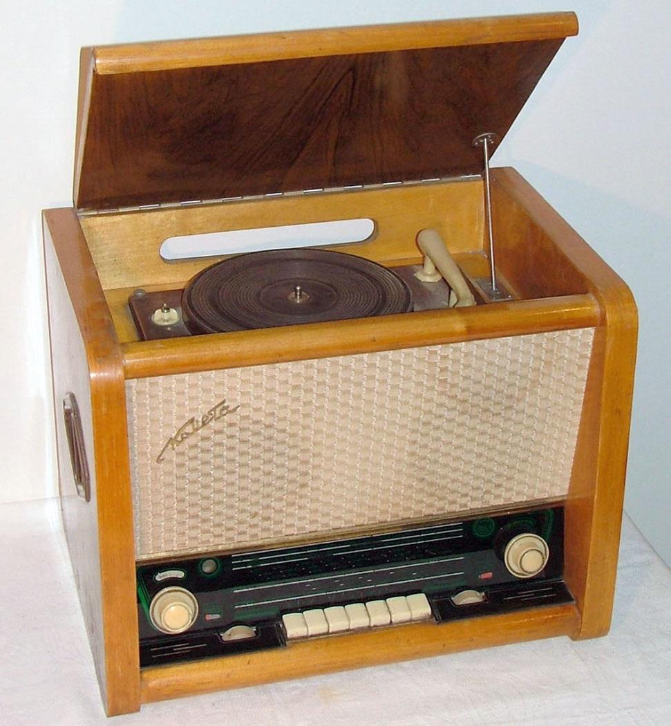 схема с подписями простейшего радиоприемник